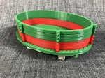 Gondola Built Up-Christmas Fun-Green/Red-Green-White