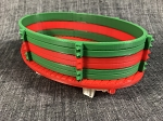 Gondola Built Up-Christmas Fun-Green/Red/Green-Red-White