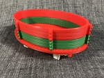 Gondola Built Up-Christmas Fun-Red/Green-Red-White