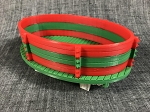 Gondola Built Up-Christmas Fun-Red/Green/Red-Green-White